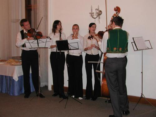 Představení nadace na radnici 2007